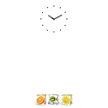 Eurographics Memoboard Time Board Fruit Interplay 30 cm x 80 cm