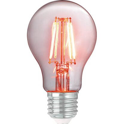 OBI LED-Filament-Leuchtmittel Glühlampenform E27 / 4 W Orange