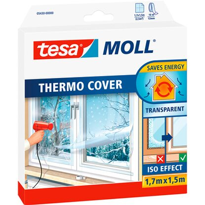 Tesamoll Thermo Cover Fensterisolierfolie 1,7 m