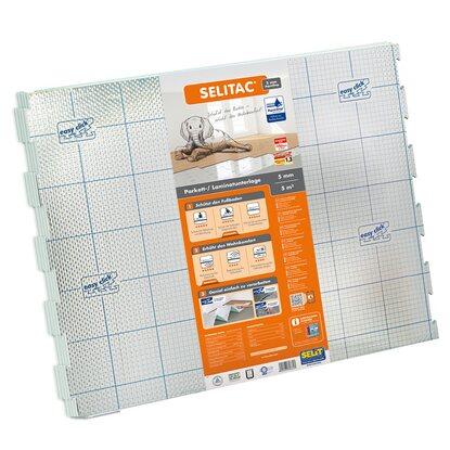 selitac parkett und laminatunterlage 5 mm 5 m mit aquastop kaufen bei obi. Black Bedroom Furniture Sets. Home Design Ideas