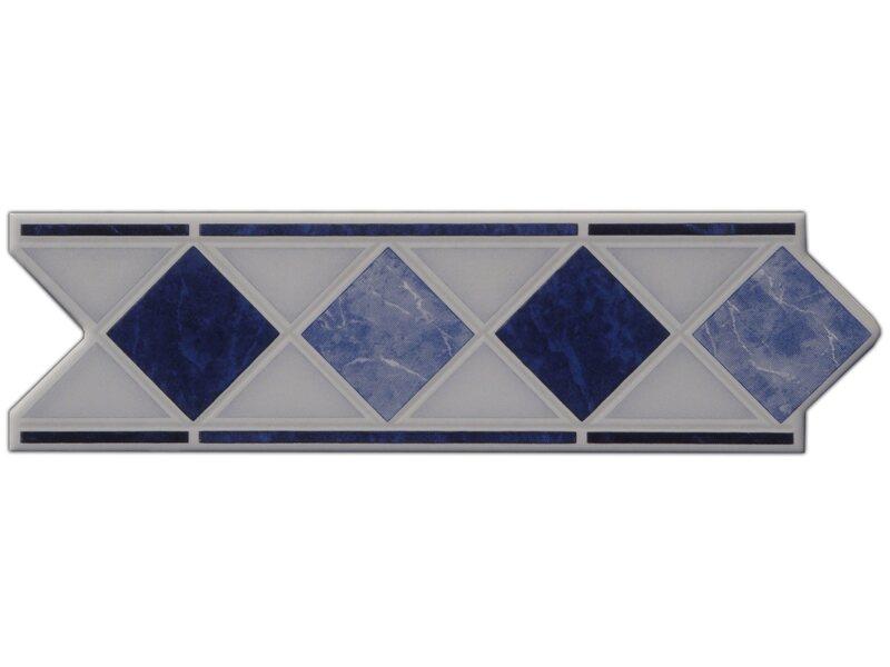 Bordure Marmol Blau 6 Cm X 20 Cm