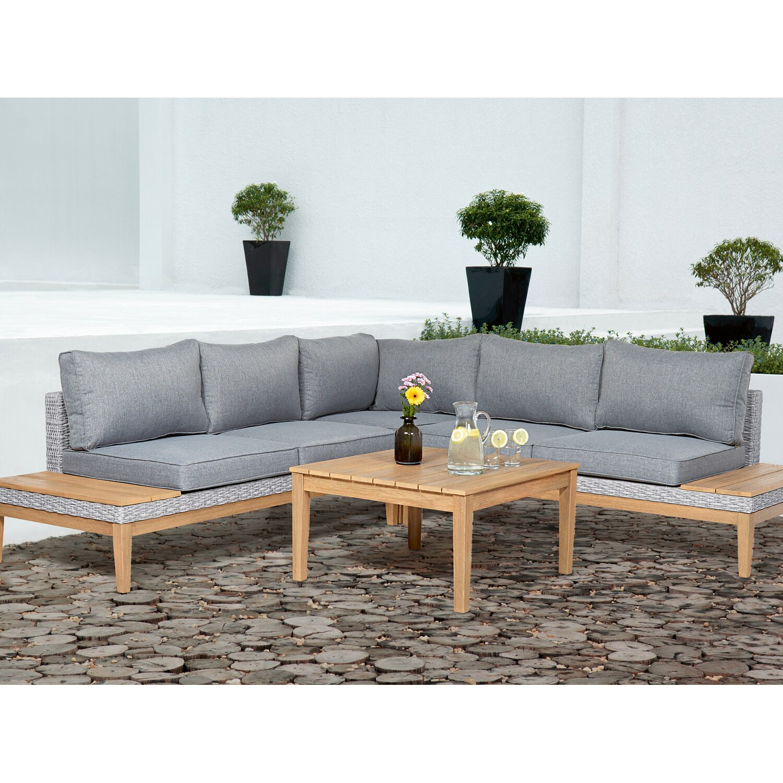 obi lounge gruppe hamerson fossil polyrattan eukalyptus 4 tlg kaufen bei obi. Black Bedroom Furniture Sets. Home Design Ideas