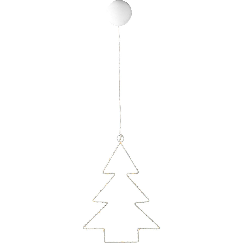 Bauhaus Baumarkt Weihnachtsbeleuchtung.Led Deko Leuchte Metall Baum 16 Warmweiße Leds Innen