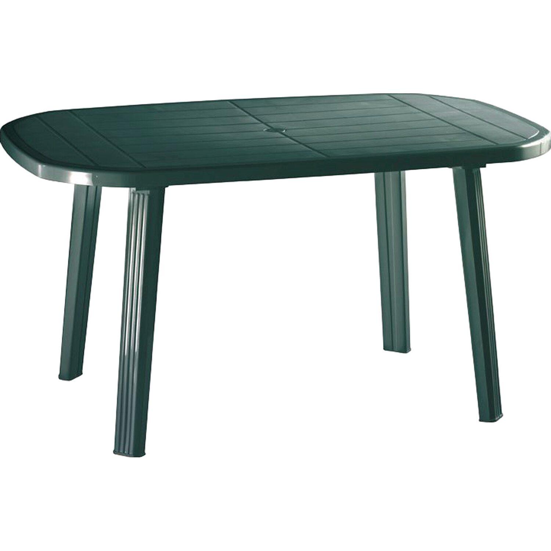 tisch oval gr n kaufen bei obi. Black Bedroom Furniture Sets. Home Design Ideas