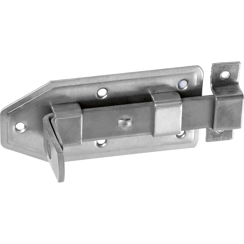 Häufig Türriegel Edelstahl 120 mm x 55 mm kaufen bei OBI EK48