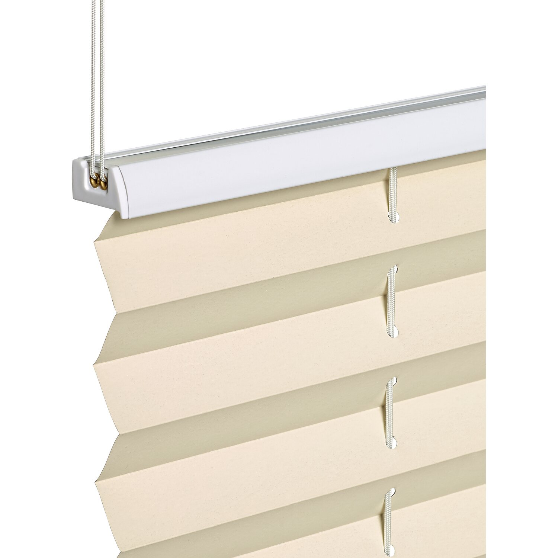 obi verspanntes thermo plissee tona 120 cm x 130 cm beige. Black Bedroom Furniture Sets. Home Design Ideas