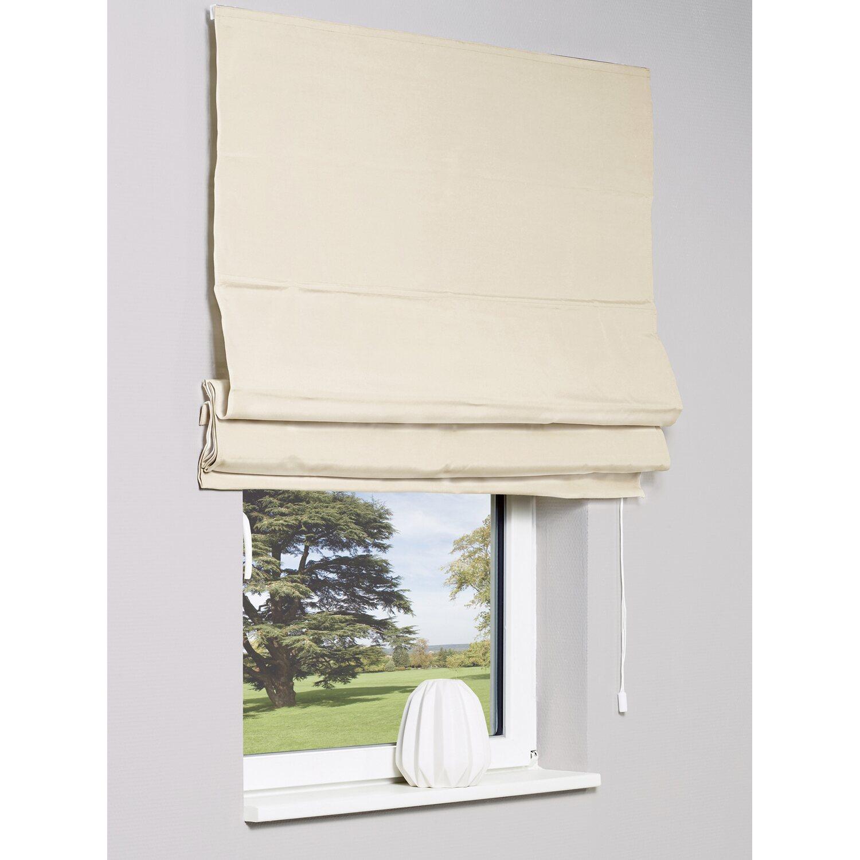 obi raffrollo rubena 120 cm x 170 cm beige kaufen bei obi. Black Bedroom Furniture Sets. Home Design Ideas
