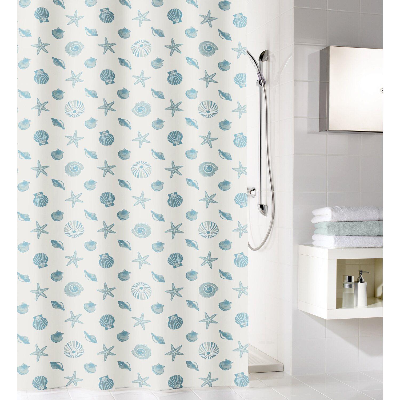 cmi duschvorhang seestern blau 180 cm x 200 cm kaufen bei obi. Black Bedroom Furniture Sets. Home Design Ideas