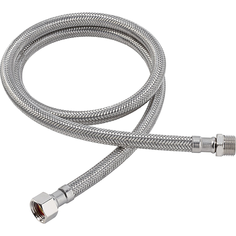 OBI Flex-Verbindungsschlauch 14,9 mm (G 3/8) x 16,7 mm (R 3/8) x 1000 mm