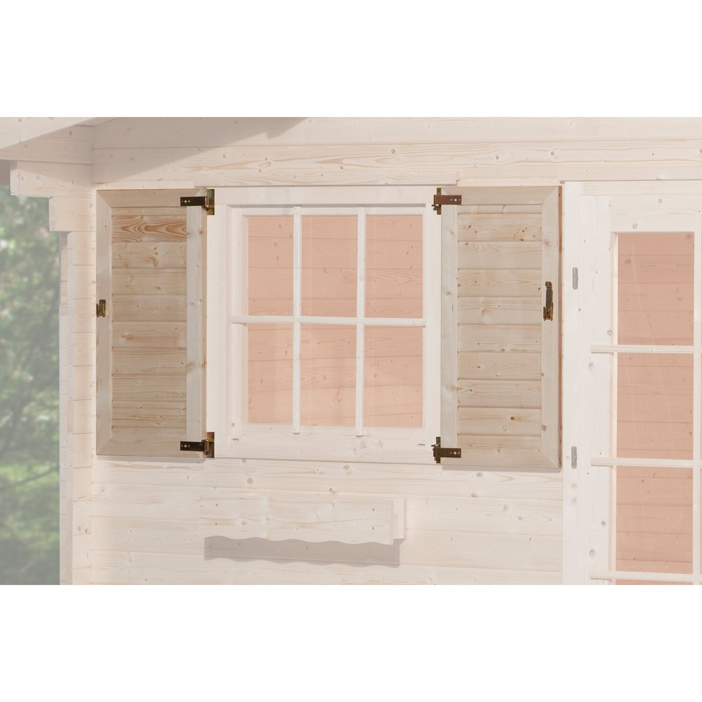 weka fensterladen f r fenster 91 cm x 91 cm kaufen bei obi. Black Bedroom Furniture Sets. Home Design Ideas