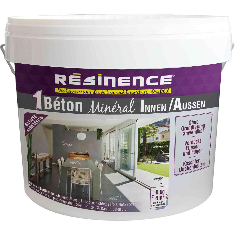 Resinence Beton Mineral Nr 14 Hellgrau 6 Kg