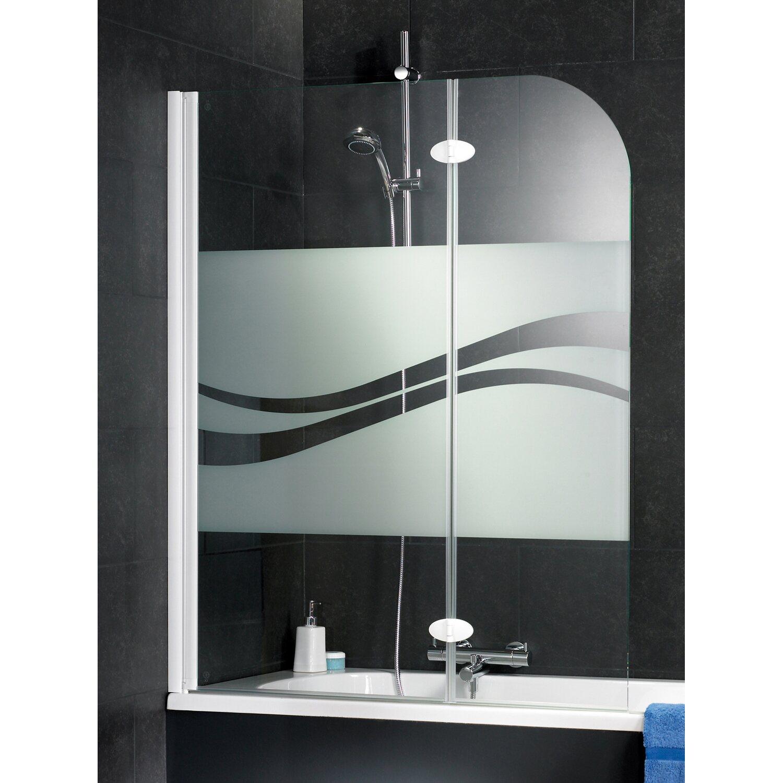 schulte badewannenaufsatz chromoptik dekor liane kaufen bei obi. Black Bedroom Furniture Sets. Home Design Ideas