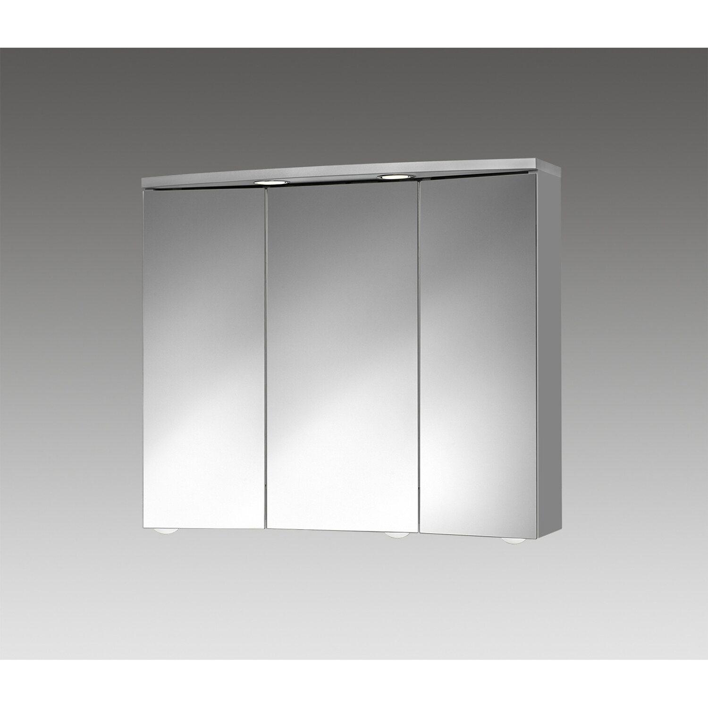 jokey spiegelschrank trava led 75 cm x 65 cm x 22 cm alu eek a kaufen bei obi. Black Bedroom Furniture Sets. Home Design Ideas