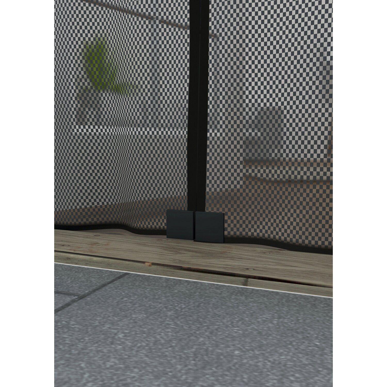 obi magnetvorhang 95 cm x 235 cm anthrazit kaufen bei obi. Black Bedroom Furniture Sets. Home Design Ideas
