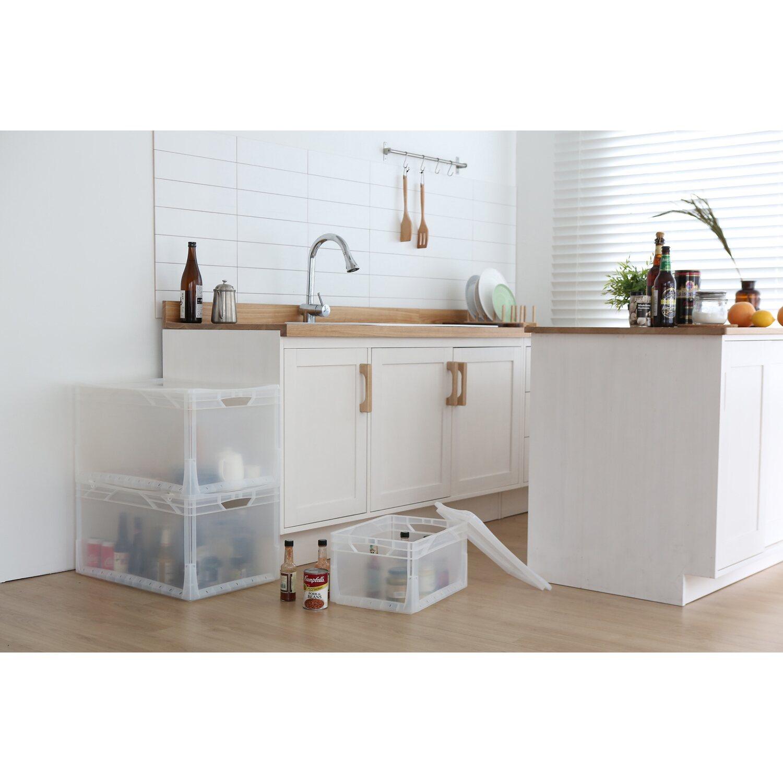 obi eurobox system tauro deckel f r box 60 x 40 cm transparent kaufen bei obi. Black Bedroom Furniture Sets. Home Design Ideas