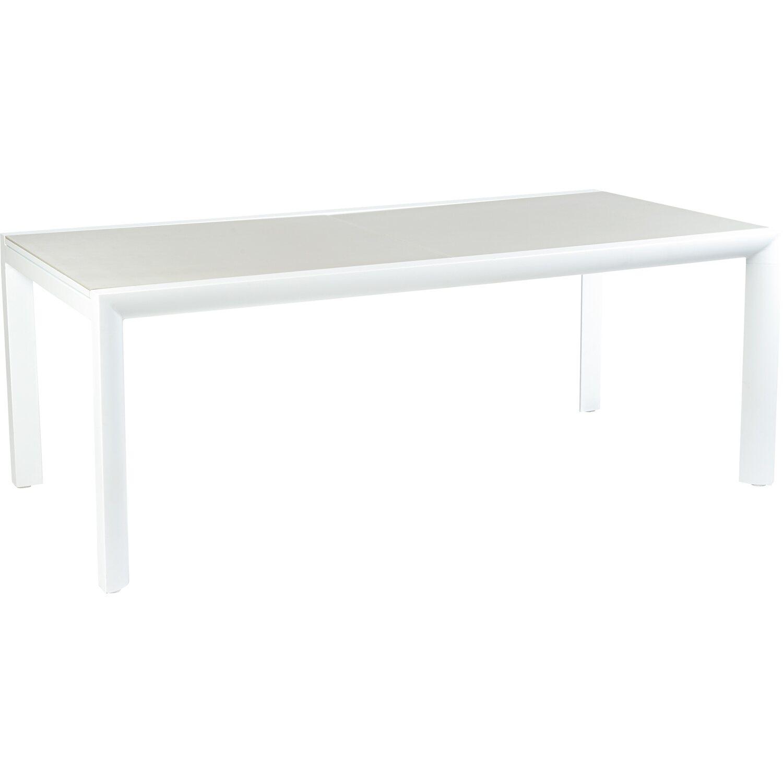 obi gartentisch princeton ausziehbar alu glas 75 cm x 200. Black Bedroom Furniture Sets. Home Design Ideas