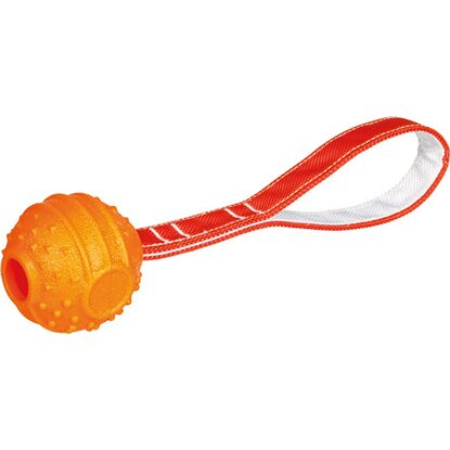Trixie Soft & Strong Ball am Gurt TPR ø 6 cm/ 26 cm Orange