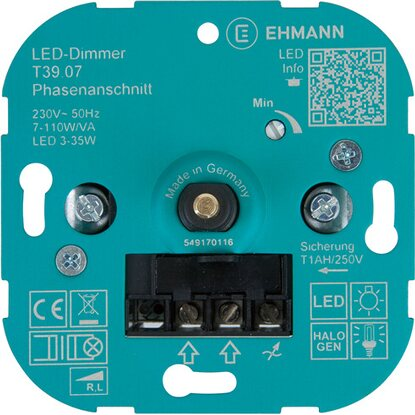 OBI LED Phasenanschnitt Dimmer