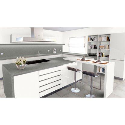 arbeitsplatte 65 cm x 3 9 cm stein grau st451c kaufen. Black Bedroom Furniture Sets. Home Design Ideas